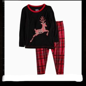 NWT-boys Fitted Two-Piece Pajamas KICKEE PANTS